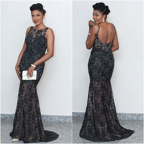 Stunning Nigerian Female Celebrity Style amillionstyles @omonioboli