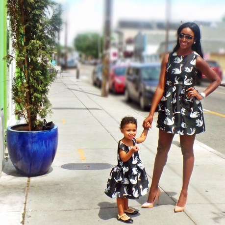 Same Outfit For Mother & Daughter amillionstyles @krazyforkoko