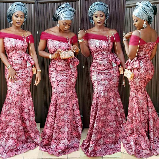 10 Latest Aso Ebi Styles This Weekend