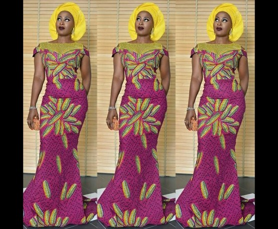 10 Latest Aso Ebi Styles - This Weekend amillionstyles.com @jumokeraji