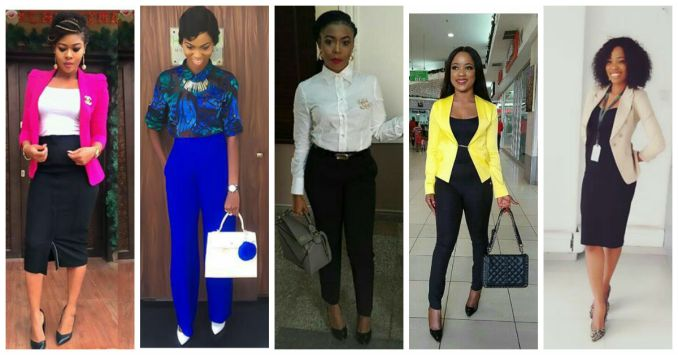 10 Corporate Outfit Ideas amillionstyles.com monday