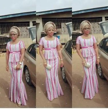 Outstanding Asoebi Styles amillionstyles.com @busola25