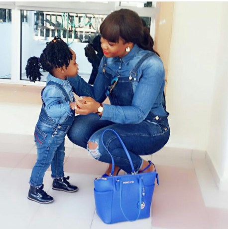Joycee and daughter trending on woman crush wednesday @joycee_ben amillionstyles.com