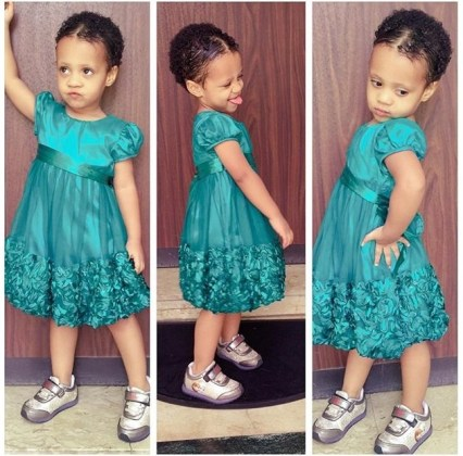 10 Adorable Kids In Their Awesome Outfit amillionstyles.com @curlyprincesshan-