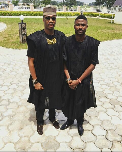 nigerian men and women in agbada styles amillionstyles.com @skibble1