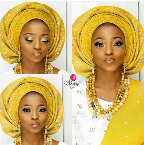 Amazing Traditional Bridal Looks amillionstyles.com @makeupbyashabee