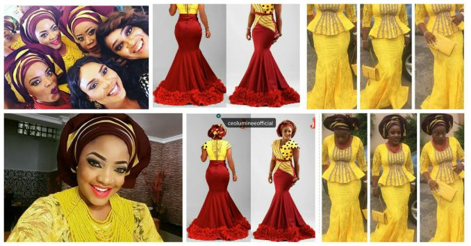 Selfies and Glamour Wedding Pictures Of Seun Akindele - Amillionstyles