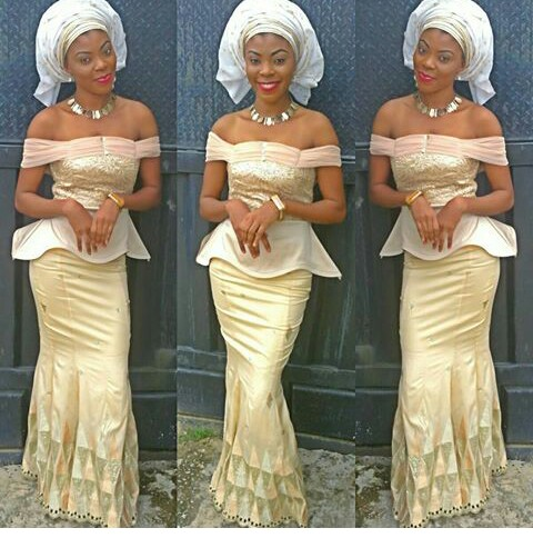 Classy Aso Ebi Styles In Lace Worn Over The Weekend @eloholic