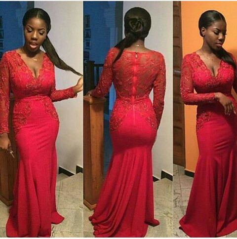 Stunning Dinner Gown You Should Try On - Amillionstyles @tamaraa_o