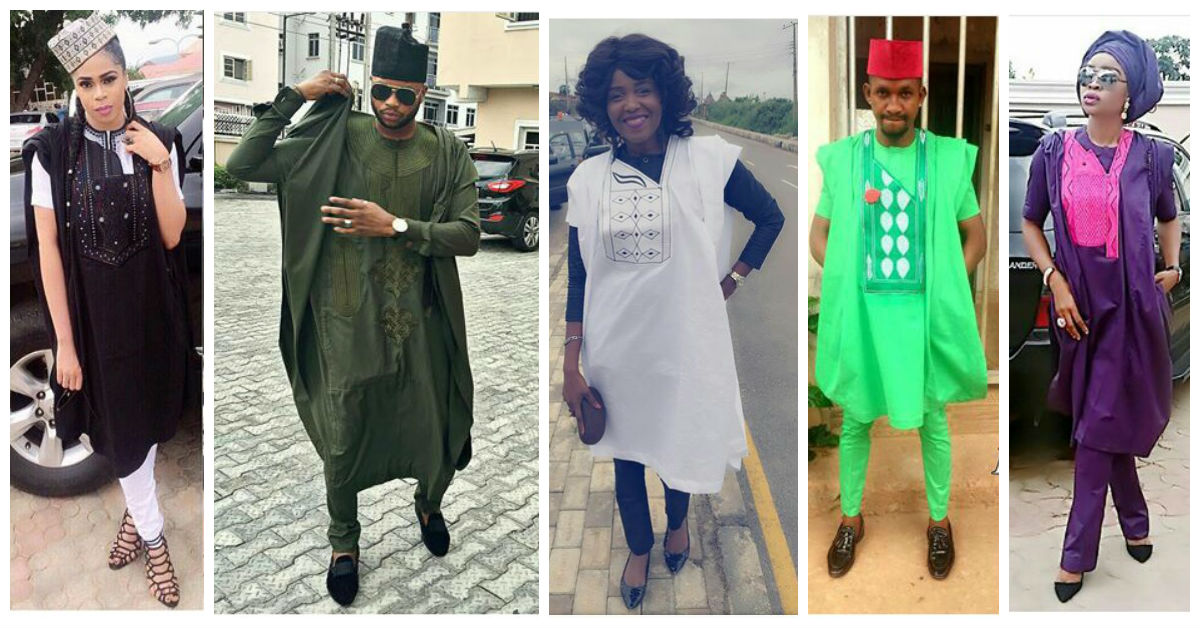 Ladies Latest Style Gorgeous Agbada Styles For Ladies And Gent