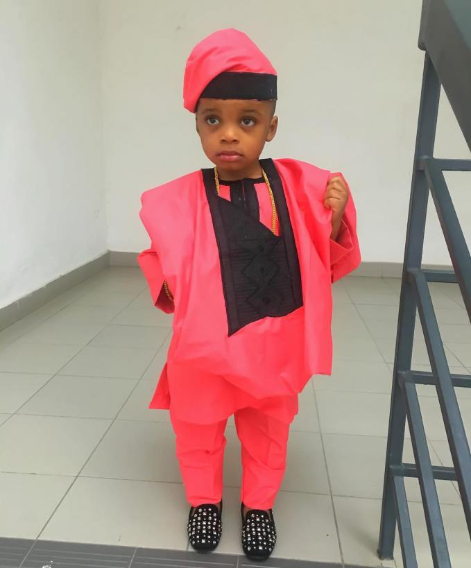 Awesome Agbada Styles For Children amillionstyles.com @kemsegsy
