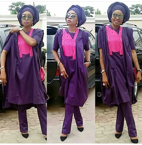 Gorgeous Agbada Styles For Ladies And Gent @stylistaby-maureen