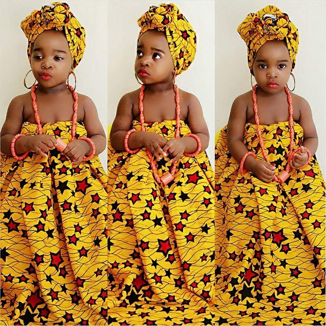 Unique Traditional Outfits amillionstyles @joycee_ben