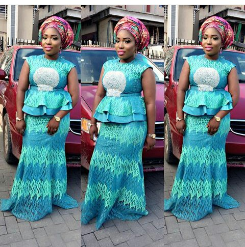 Beautiful And More Aso Ebi Styles amillionstyles.com @meeyahcreations