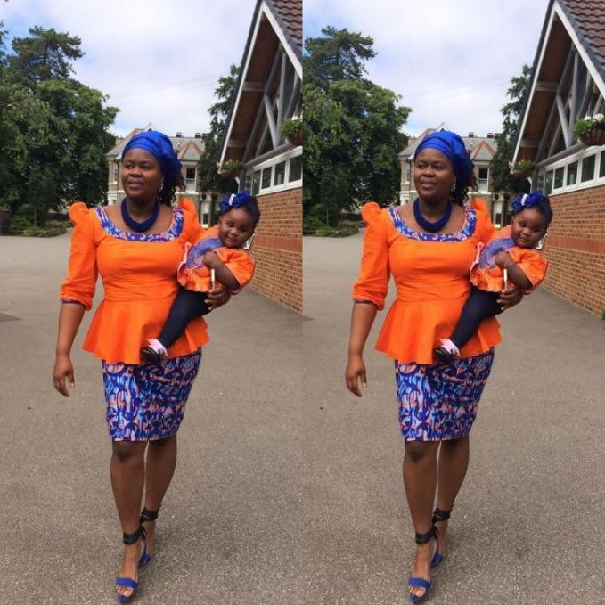 Mum And Daughter Outfits amillionstyles.com @uloma_nwogu