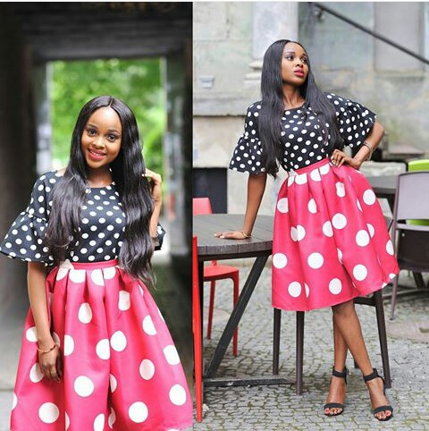 Amazing Polka Dots Prints And Patterned Outfit amillionstyles @prettyfaze
