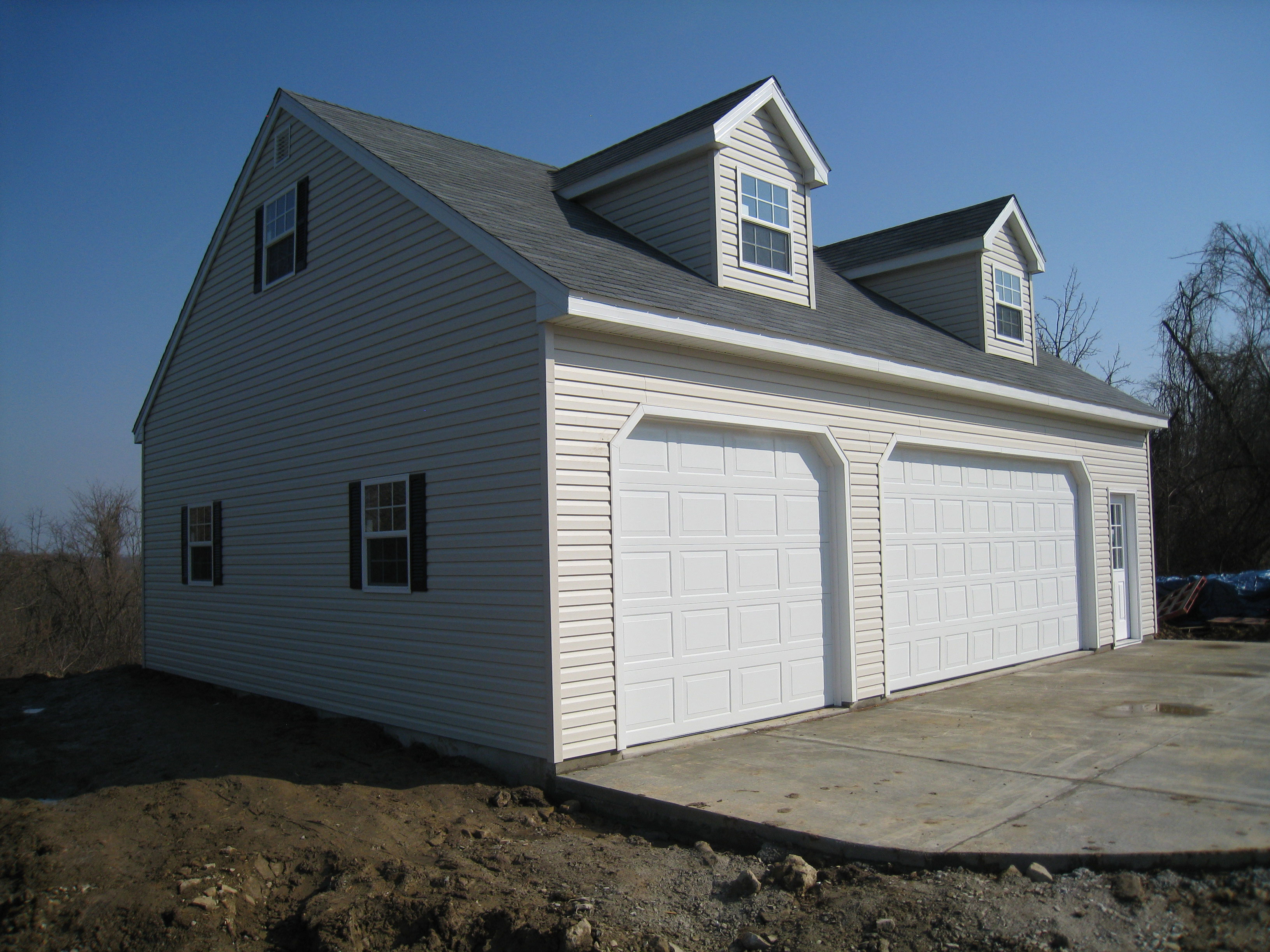 Garage For Sale Long Island Built On Site Custom Amish Garages In Oneonta Ny Amish Barn Company