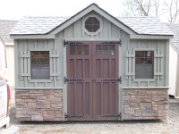 Custom Amish Backyard Wood Sheds for Sale in Oneonta, NY ...
