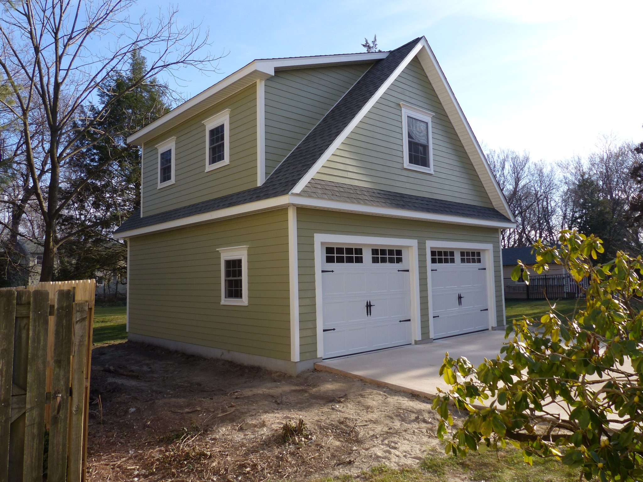 Garage Apartment Example Amish Built Garages Your Design