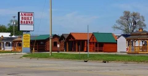 Amish Built Barns Location