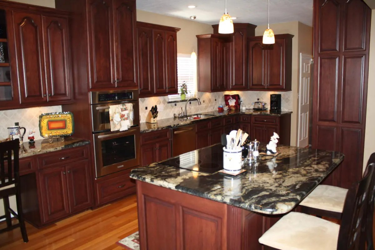 Amish kitchen cabinets for Amish kitchen cabinets pa