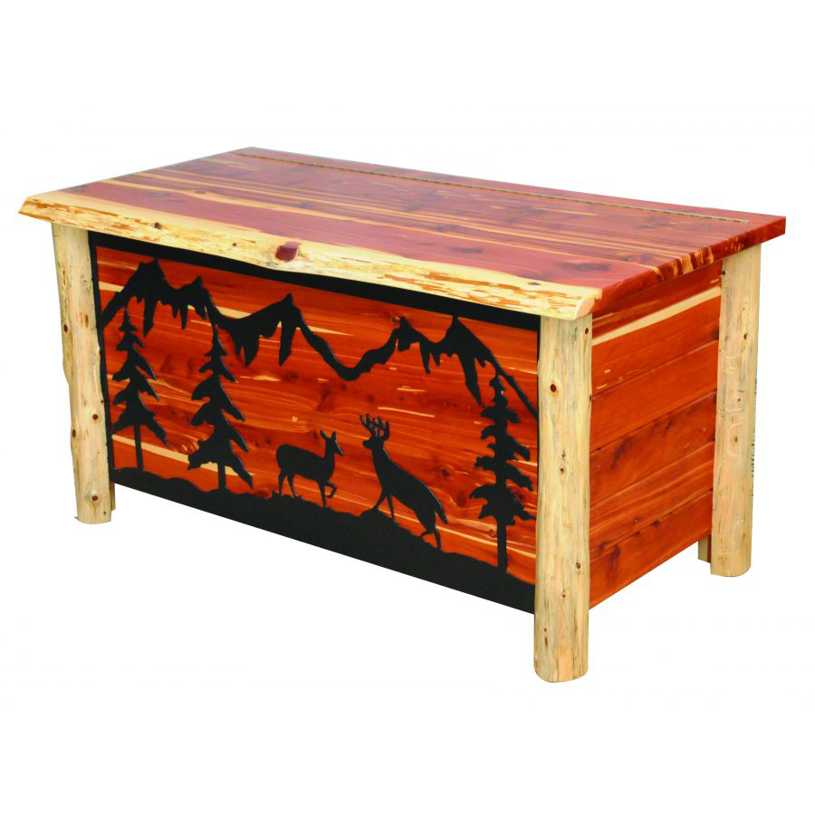 Wood Blanket Box North Wood Collection Blanket Chest