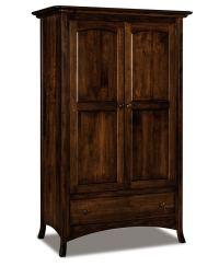 Carlisle Wardrobe Armoire - Amish Direct Furniture