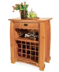 Colebrook Wine Cabinet - Amish Direct Furniture