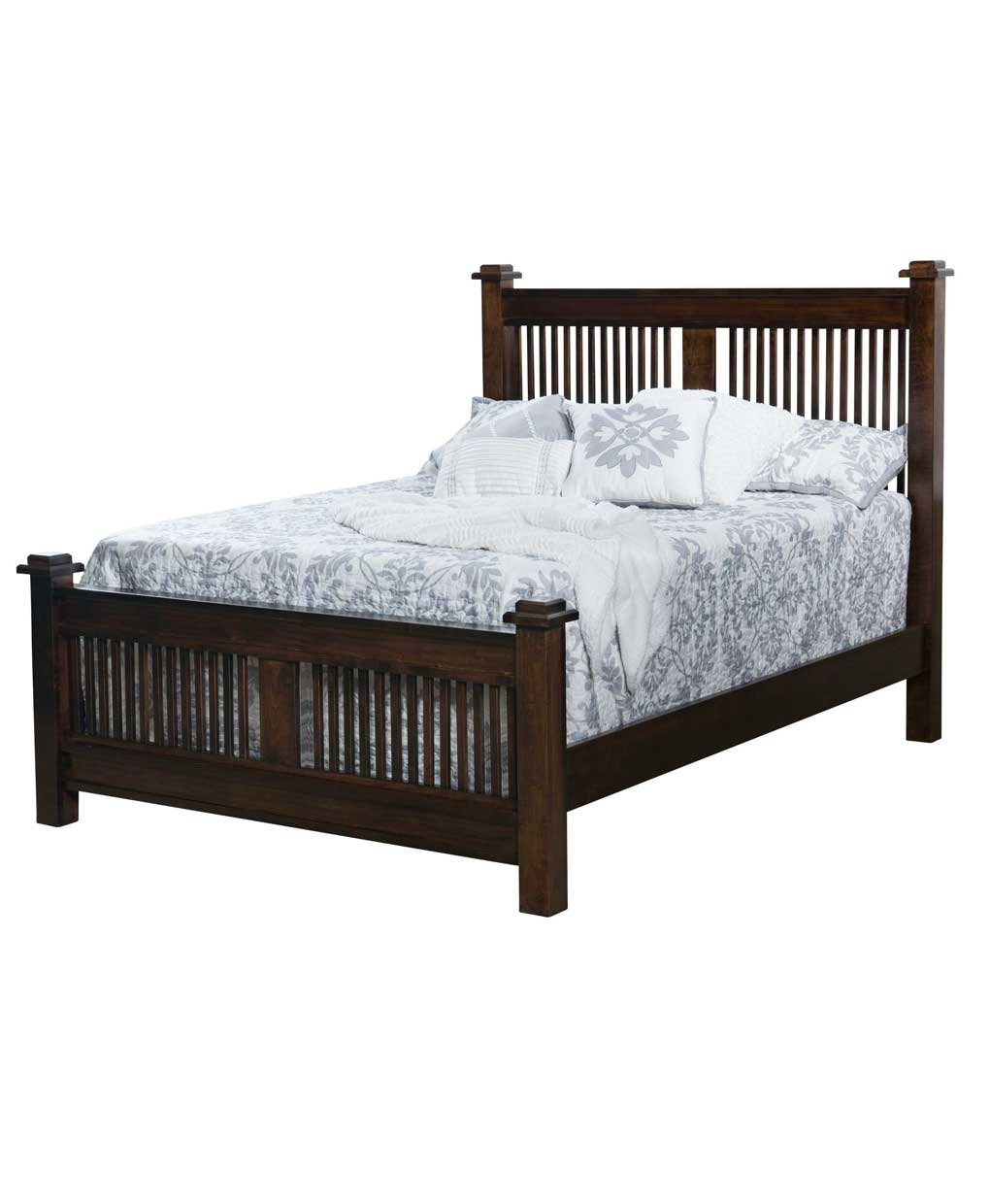 American Mission Bed Amish Direct Furniture