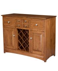 Lisa Wine Cabinet - Amish Direct Furniture