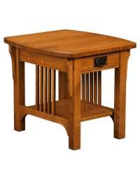 Craftsman Mission End Table - Amish Direct Furniture