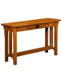 Craftsman Mission Sofa Table - Amish Direct Furniture