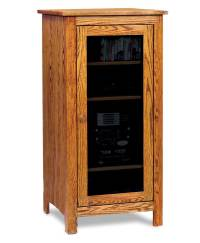 Amish Mission Stereo Cabinet | Cabinets Matttroy