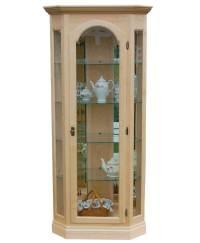 Corner Curio Cabinet - Amish Direct Furniture