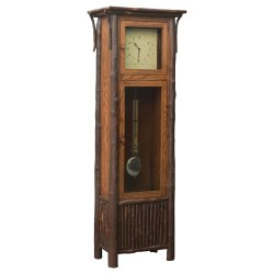 Small Crop Of Grandfather Clock In Living Room