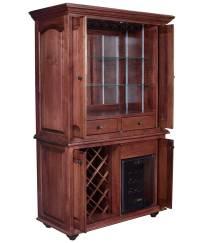 Jefferson Wine Cabinet - Amish Direct Furniture