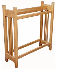 Mission Quilt Rack - Oak - Amish Direct Furniture