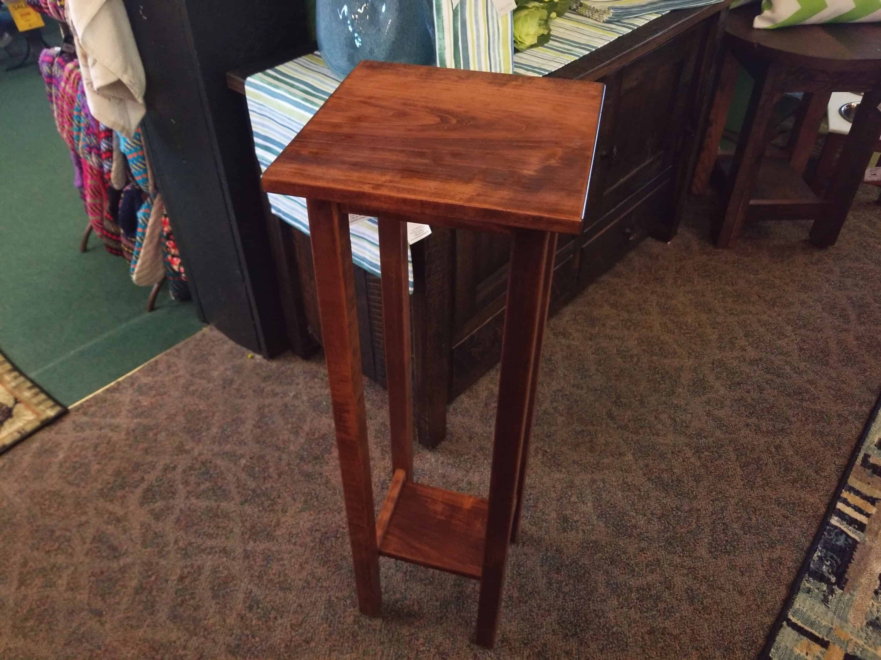 Big Plant Stand 36 Quot Large Plant Stand Shown In Brown Maple With An Asbury