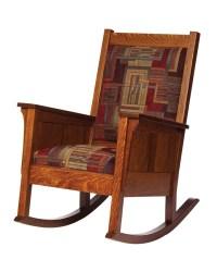 Shaker Rocker - Amish Furniture Designed