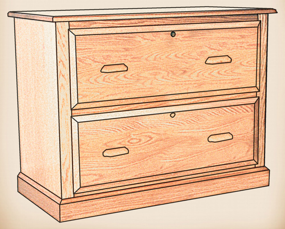 Solid Wood File Cabinet Amish Home Furnishings Amish Furniture In Daytona Beach Florida
