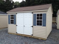 Amish Storage Sheds PA NJ - Vinyl Storage Sheds, Backyard ...