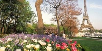 Париж-весной