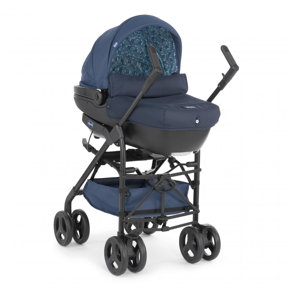 Chicco Kinderwagen 3 In 1 Chicco Trio Sprint With Kit Car Midnight Ammancart