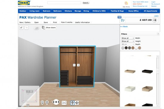 Pax Planer Online New Addiction: The Ikea Pax Wardrobe Planner | A Model