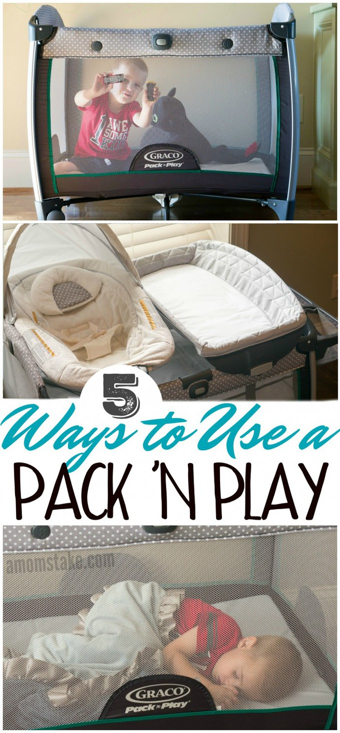 Graco Newborn Bassinet 5 Ways To Use A Pack N Play A Mom S Take