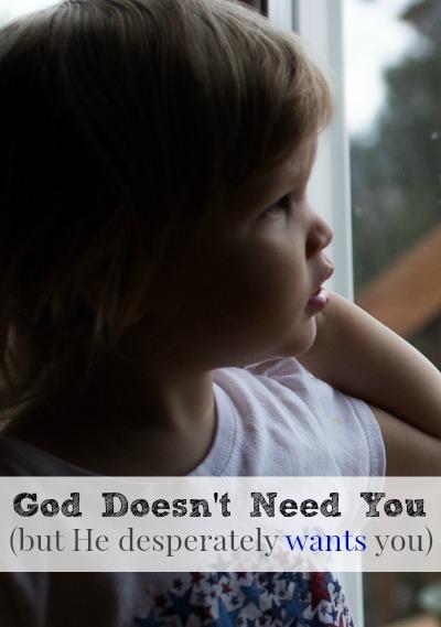 God Doesn't Need You, Homeschool Mama