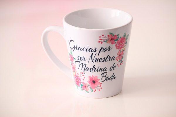 Mug Madrina de Boda - Amore Colombia