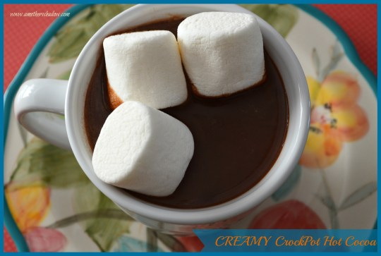 Creamy CrockPot Hot Cocoa