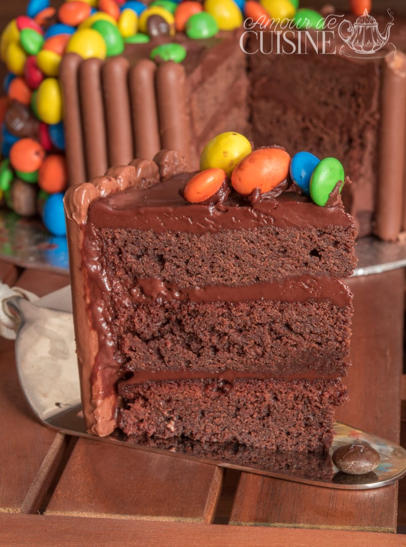 Idee Decoration Gateau Au Chocolat La Gravity Cake Gateau D Anniversaire Au Chocolat M Ms