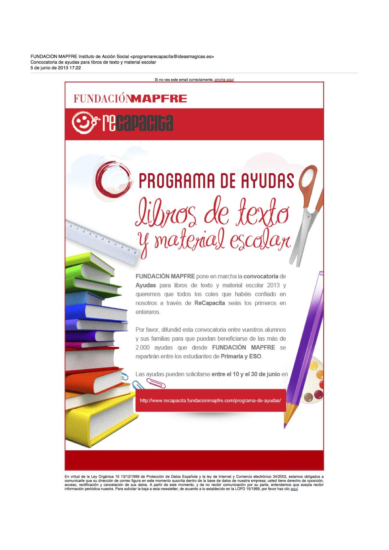 Ayudas De Libros Jcyl | Servicios Sociales Bienestar Social ...